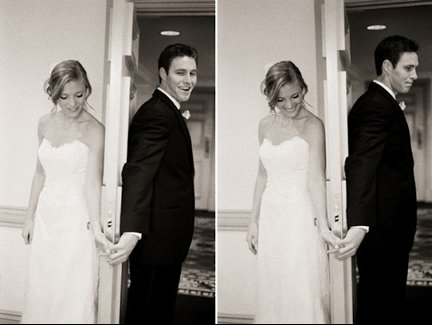 photo of To Look or Not To Look: First Looks or Waiting for the Ceremony