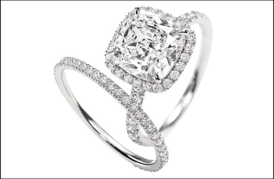 harry winston engagement ring micropave