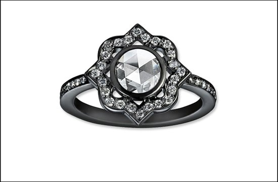 offbeat engagement ring most popular 2011