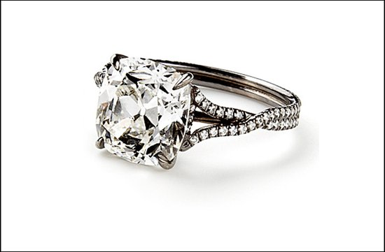 popular engagement rings 2011 interlocking wedding band