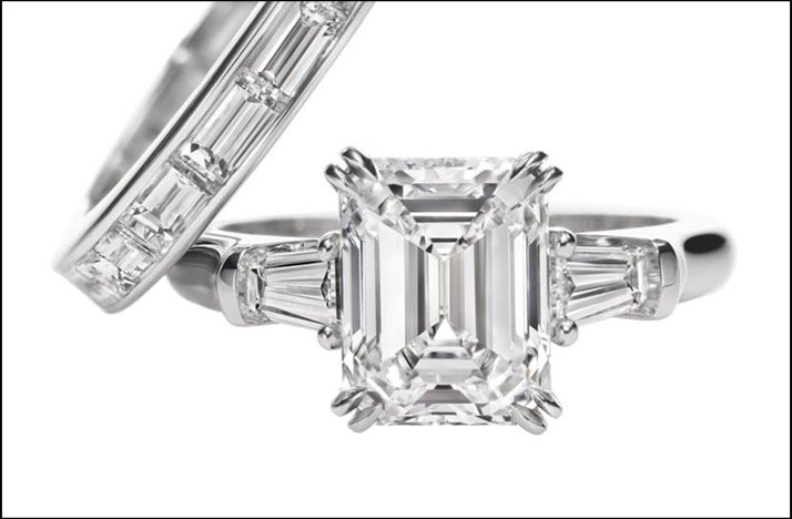 harry winston engagement ring emerald cut