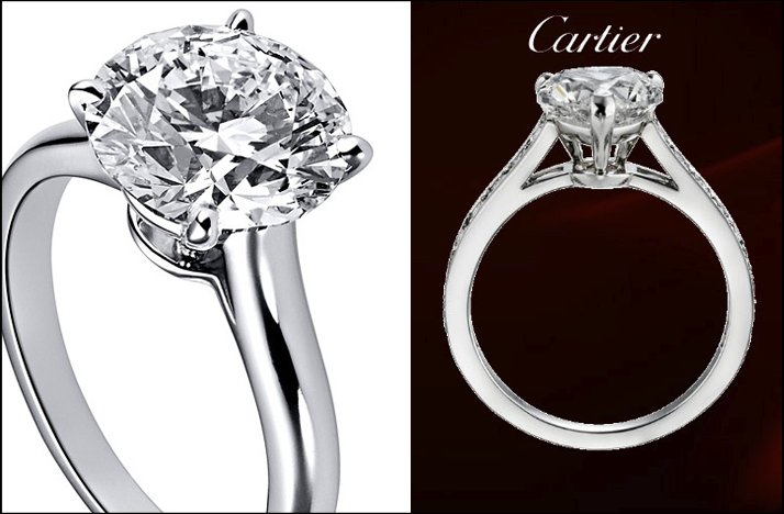 most popular engagement rings of 2011 cartier