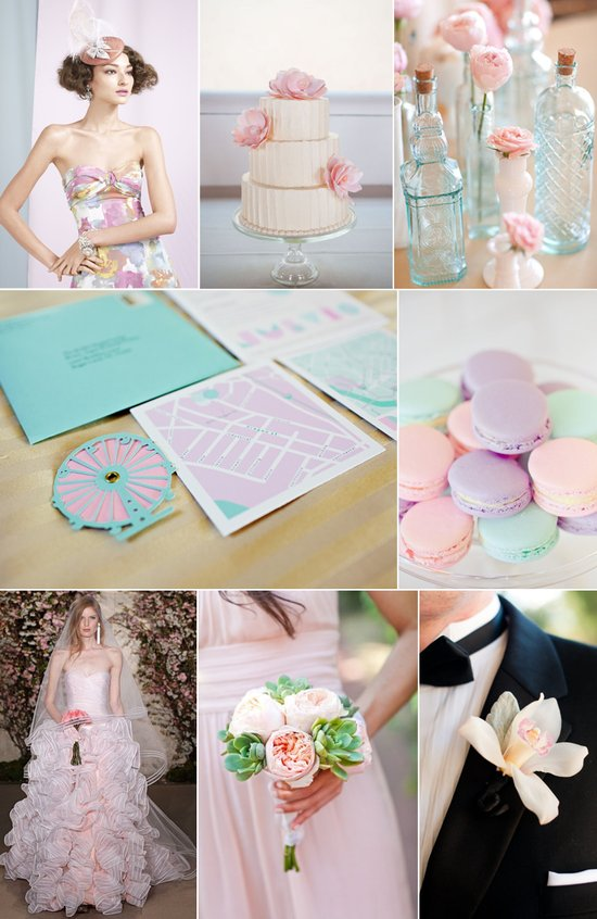 photo of Dreamy Pastels Wedding Inspiration