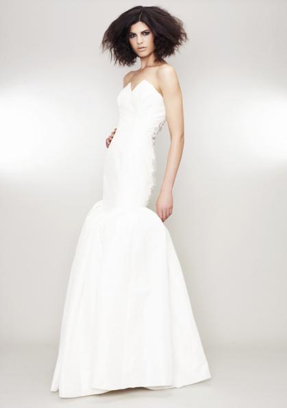 photo of rachel gilbert wedding dress 1