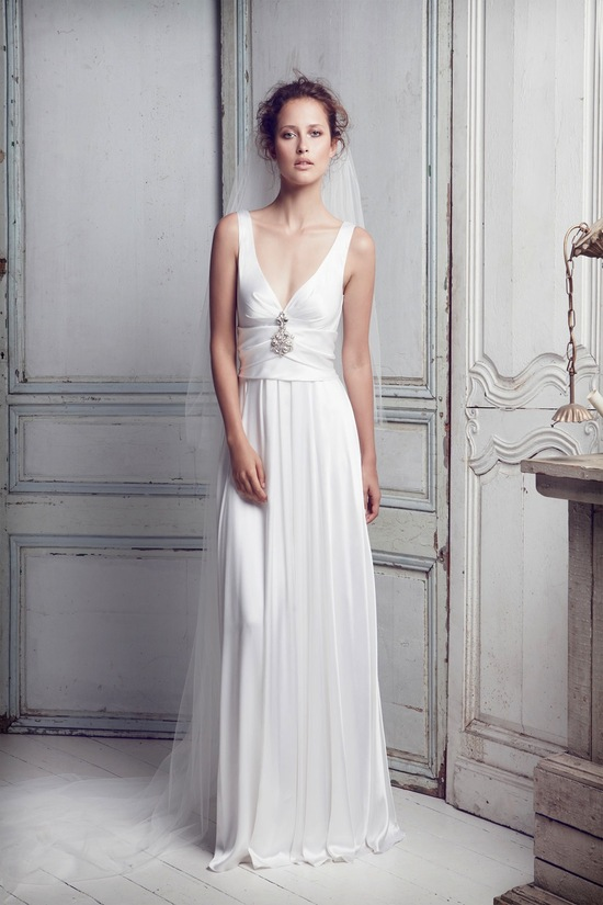 photo of collette dinnigan wedding dress 2012 bridal gowns 7