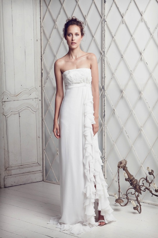 photo of collette dinnigan wedding dress 2012 bridal gowns 10