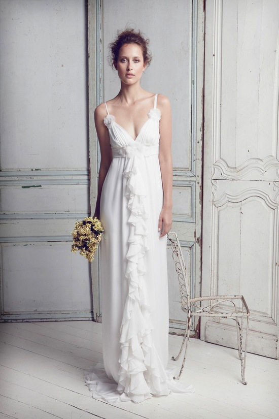 photo of collette dinnigan wedding dress 2012 bridal gowns 12