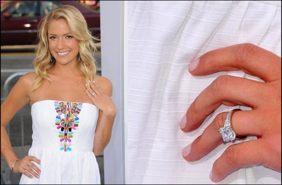 kristen cavallari engagement ring celebrity weddings 2012 jay cutler