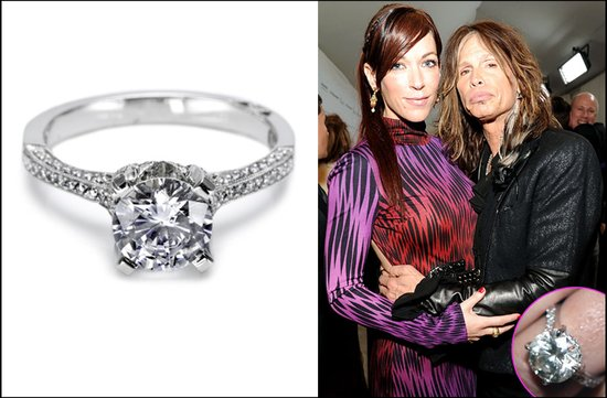 steven tyler engaged celebrity engagement rings