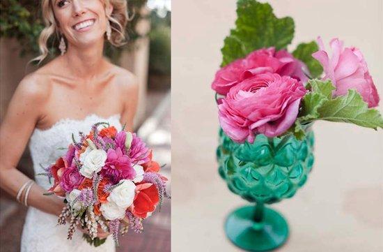 photo of Pretty Pink Wedding Inspiration