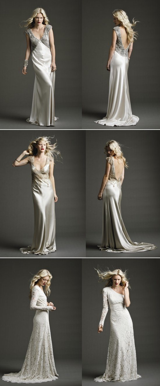 vintage inspired wedding style 2012 wedding dresses