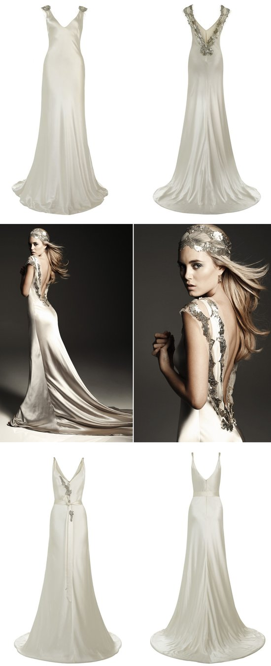 JOHANNA JOHNSON WEDDING DRESSES 2012 BRIDAL GOWN