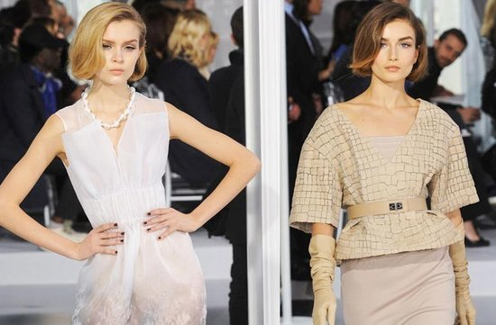 christian dior couture 2012 short wedding hair retro bridal makeup
