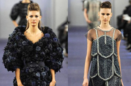 chanel couture spring 2012 bridal beauty inspiration ideas updo