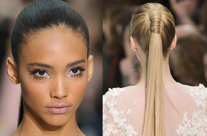 elie saab 2012 couture wedding hair makeup inspiration