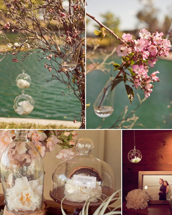 photo of Wedding Flowers that Float