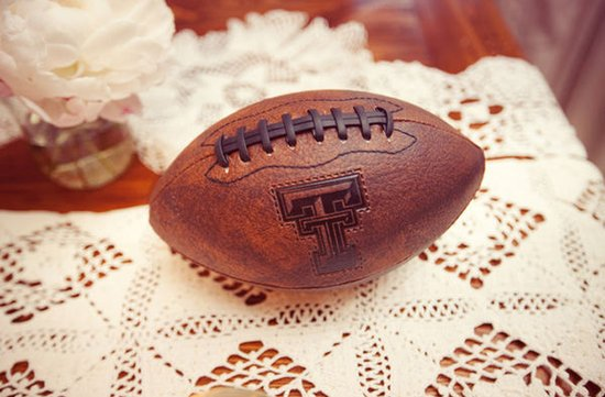 Ideas for incorporating football into your wedding decor- 1