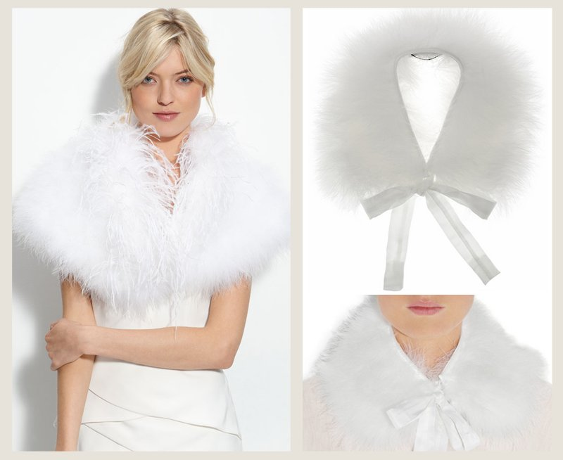 Splurge-save-wedding-accessories-bridal-feather-cape.full