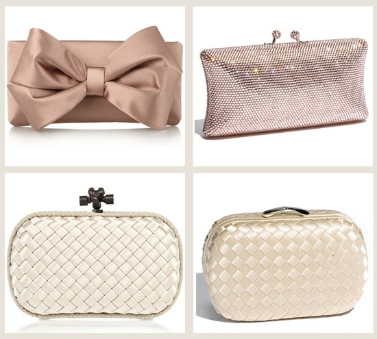 splurge vs save wedding clutches bridal accessories