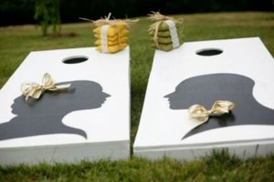 photo of Be Vintage & Modern with Silhouettes for Your Wedding