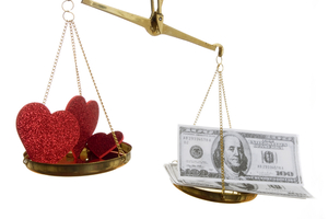 photo of marriage talk money matters prenups
