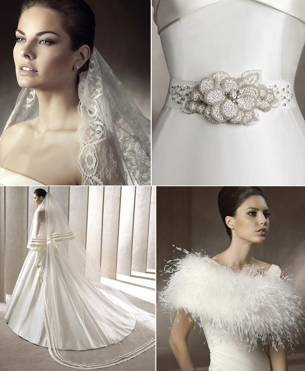 Wedding Dress Accessories Pronovias 2012