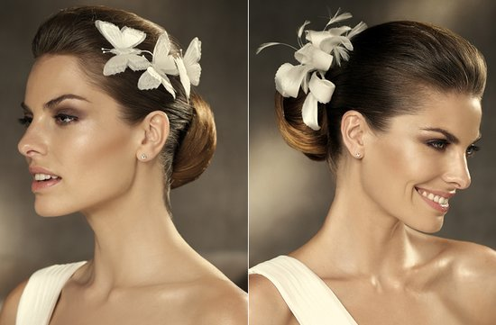 pronovias wedding hair accessories 2