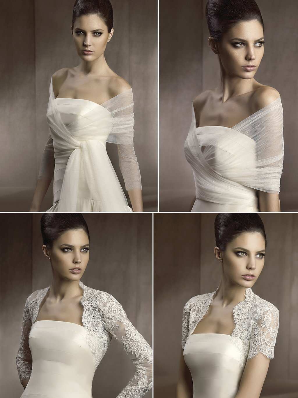 2012 Wedding Accessories Wedding Dress Shawls Caplets Lace