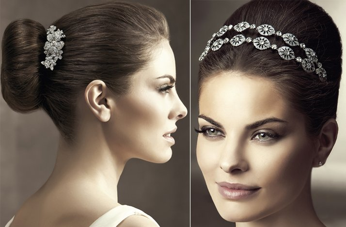 2012 wedding hair accessories bridal hairstyles pronovias wedding