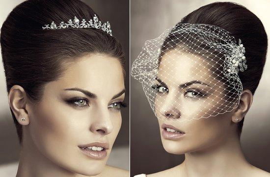 photo of 2012 wedding hair accessories bridal hairstyles pronovias 8