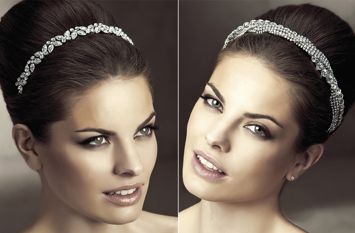 hair accessories bridal hairstyles pronovias crystal bridal headbands
