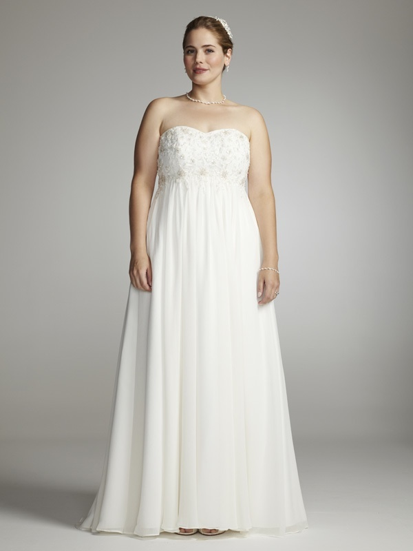 davids bridal wedding dress 9wg9830