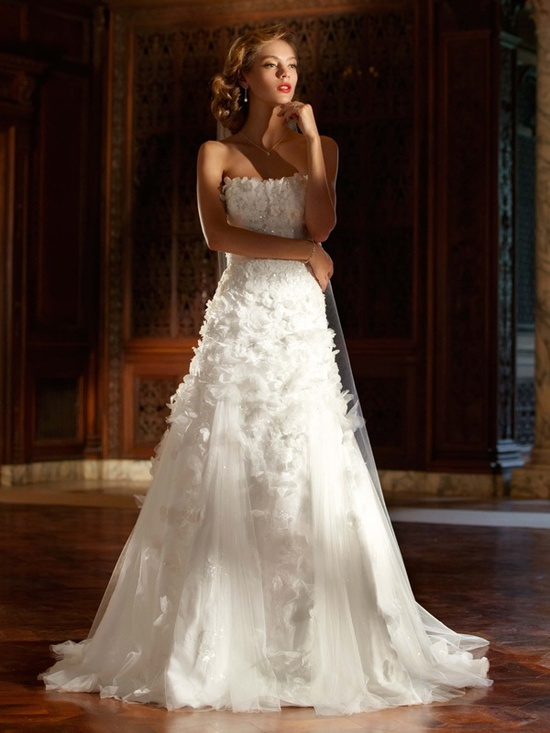 spring 2012 wedding dress galina signature bridal gowns swg471