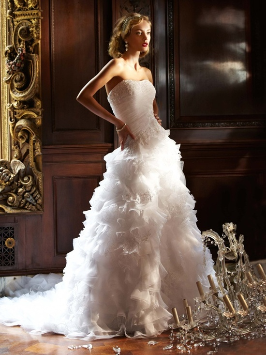 spring 2012 wedding dress galina signature bridal gowns swg484