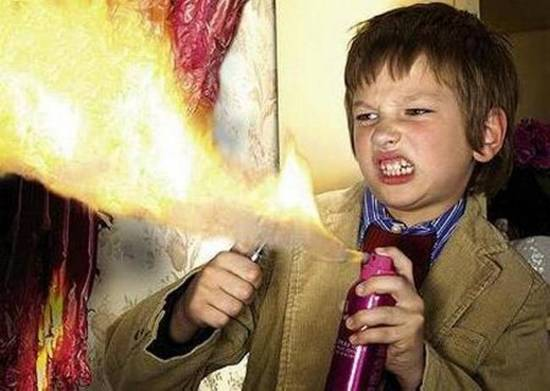 kids at weddings faux pas fire