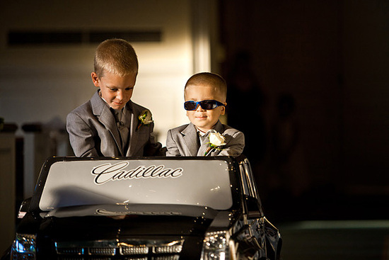wedding faux pas children at reception