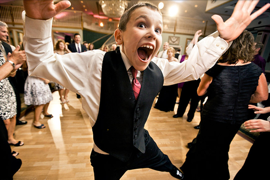 faux pas kids make at weddings first dance