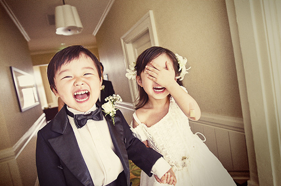 photo of biggest faux pas kids make at weddings