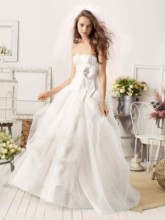 spring 2012 wedding dress galina bridal gowns wg3057ff ad