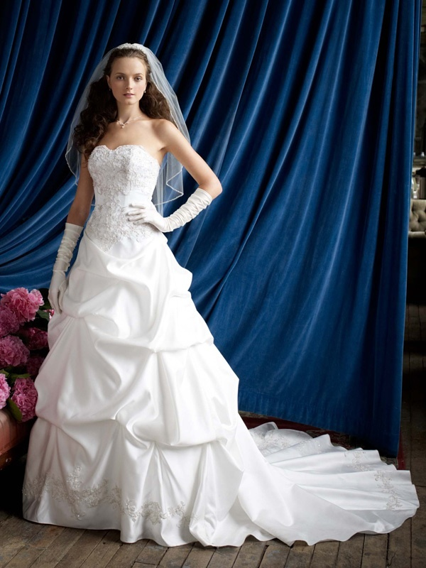 Spring 2012 wedding dress davids bridal gowns wg3239 for Wedding dress davids bridal