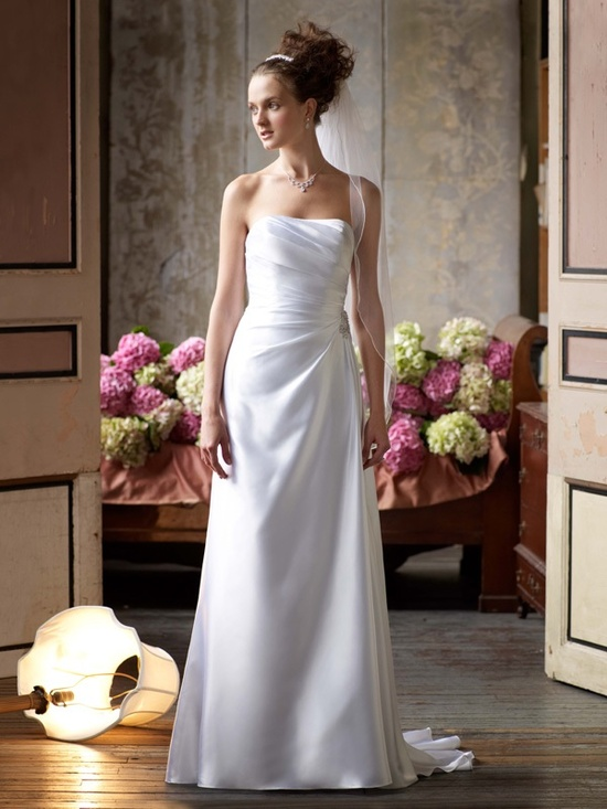 spring 2012 wedding dress davids bridal gowns wg3208