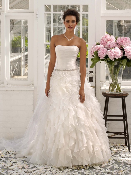 spring 2012 wedding dress davids bridal gowns wg3118
