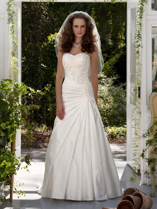 spring 2012 wedding dress davids bridal gowns v3330