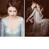 Silver-wedding-dress-v-neck-vintage-bride.square