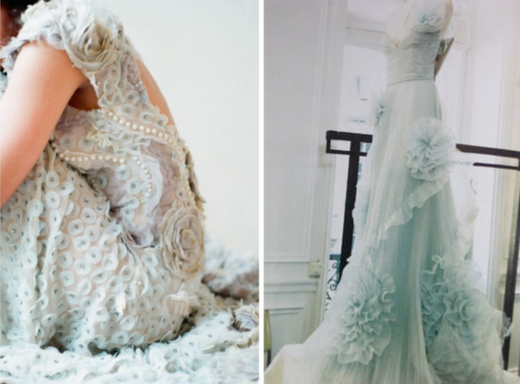 Blue Celtic Wedding Dress - Wedding Dress & Decore Ideas