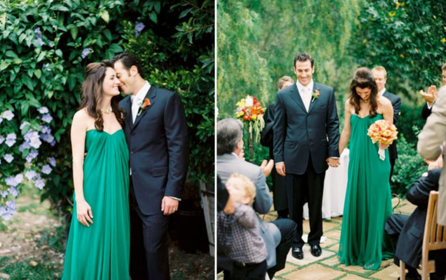 Emerald-green-wedding-dress-outdoor-wedding.full