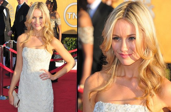 bridal beauty from 2012 sag awards wedding hair makeup just engaged star