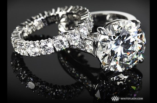 whiteflash engagement rings diamond wedding bands