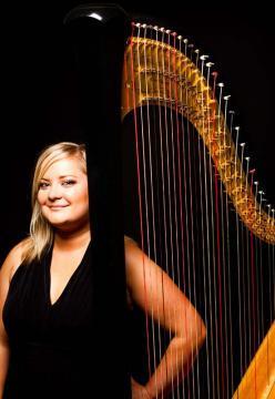 photo of Harpist Marguerite Williams