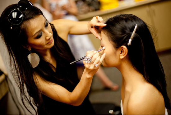 photo of Angela Tam | Makeup Artist and Hair Design Team | Airbrush Makeup & Hair Extenstion Specialist | So California